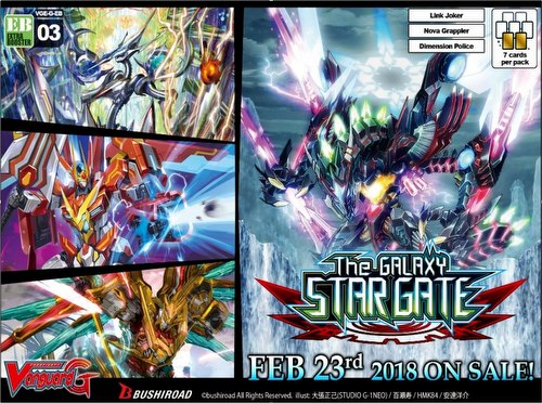 Cardfight Vanguard: The Galaxy Star Gate Booster Case [24 boxes/VGE-G-EB03/English]
