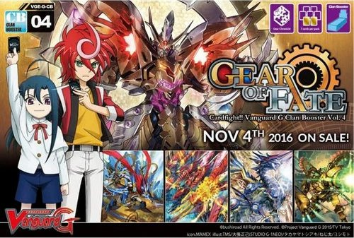 Cardfight Vanguard: Gear of Fate Booster Case [VGE-G-CB04/24 boxes]