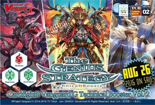 Cardfight Vanguard: The Genius Strategy Booster Case [VGE-G-TCB02/24 boxes]