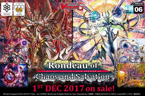 Cardfight Vanguard: Rondeau of Chaos and Salvation Booster Case [VGE-G-CB06/English/24 boxes]