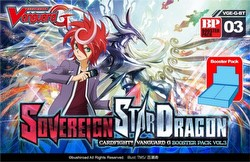 Cardfight Vanguard: Sovereign Star Dragon Booster Case [VGE-G-BT03/16 boxes]