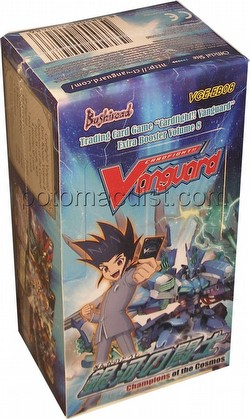 Cardfight Vanguard: Champions of the Cosmos Booster Box Case [24 boxes/EB08]