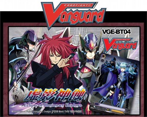 Cardfight Vanguard: Eclipse of Illusionary Shadows Booster Box Case [16 boxes/BT04]