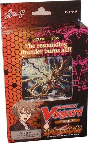 Cardfight Vanguard: Resonance of Thunder Dragon Trial Deck