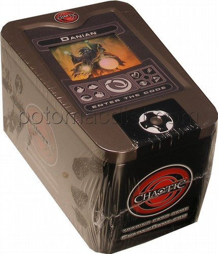 Chaotic CCG: 2008 Danian Collectible Tin & Scanner