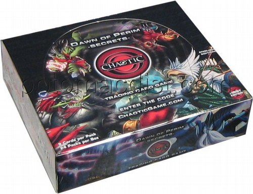 Chaotic CCG: Dawn of Perim Booster Box [1st Edition]
