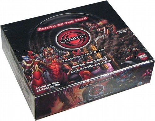 Chaotic CCG: Zenith of the Hive Booster Box [1st Edition]