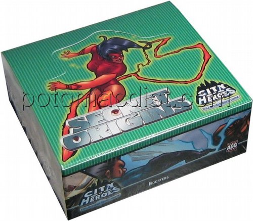 City of Heroes Collectible Card Game [CCG]: Secret Origins Booster Box