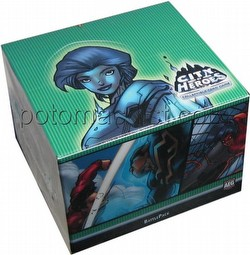 City of Heroes Collectible Card Game [CCG]: Secret Origins Battle Pack Box