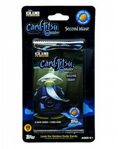 Club Penguin: Card-Jitsu Water Second Wave Blister Booster Pack