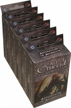 Call of Cthulhu LCG: The Rituals of the Order - Aspirations of Ascension Asylum Pack Box [6 packs]