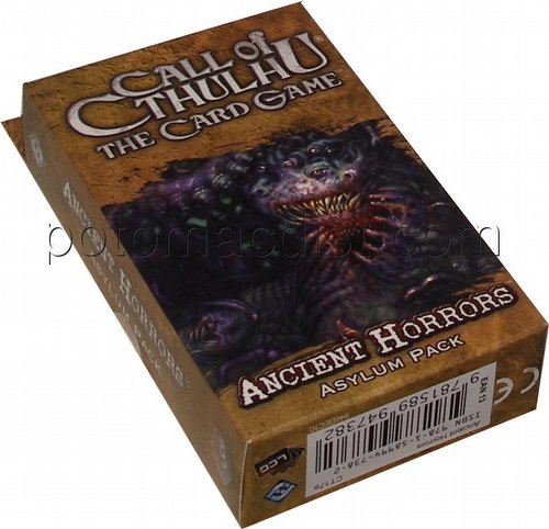 Call of Cthulhu LCG: The Forgotten Lore Cycle - Ancient Horros Aslym Pack [Revised]