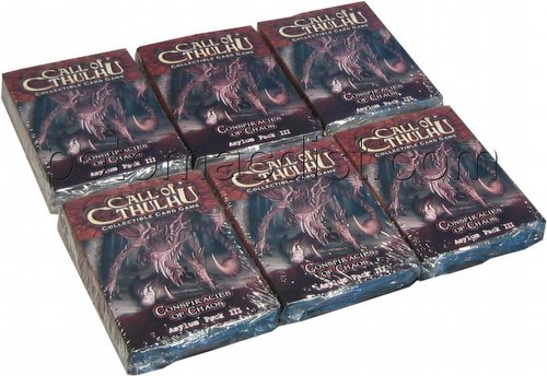 Call of Cthulhu LCG: Conspiracies of Chaos Asylum Pack Box [6 packs]