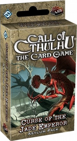 Call of Cthulhu LCG: Ancient Relics Cycle - Curse of the Jade Emperor Asylum Pack Box [6 packs]