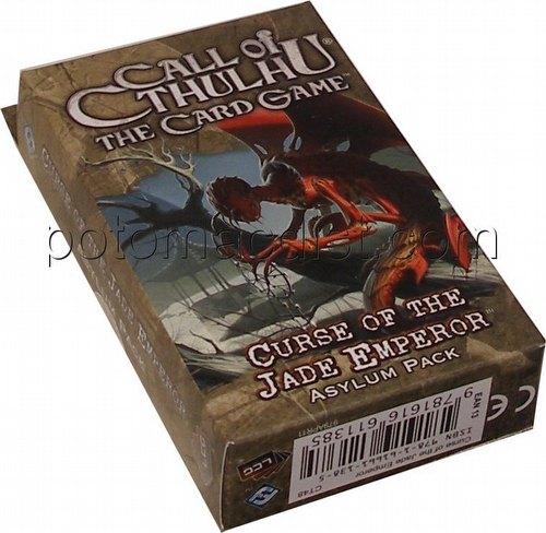 Call of Cthulhu LCG: Ancient Relics Cycle - Curse of the Jade Emperor Asylum Pack