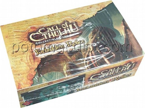 Call of Cthulhu CCG: Forbidden Relics Booster Box