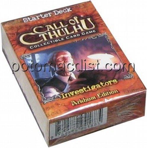 Call of Cthulhu CCG: Arkham Edition Investigators Starter Deck
