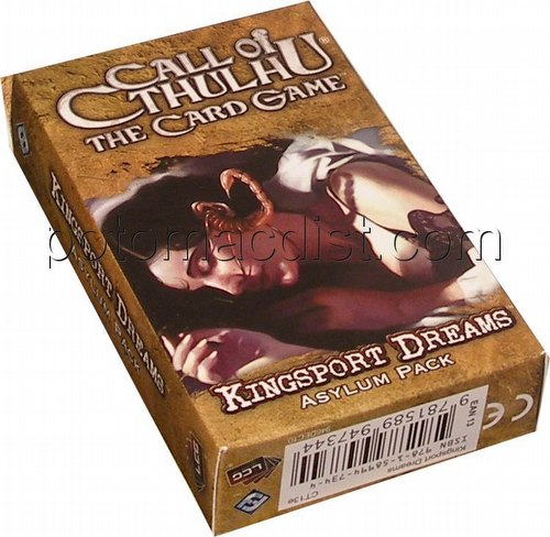 Call of Cthulhu LCG: The Forgotten Lore Cycle - Kingsport Dreams Asylum Pack [Revised]