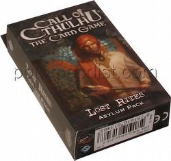 Call of Cthulhu LCG: Revelations - Lost Rites Asylum Pack