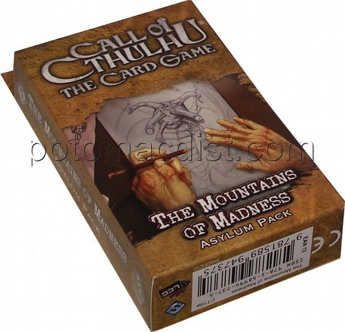 Call of Cthulhu LCG: The Forgotten Lore Cycle - The Mountains of Madness Asylum Pack [Revised]