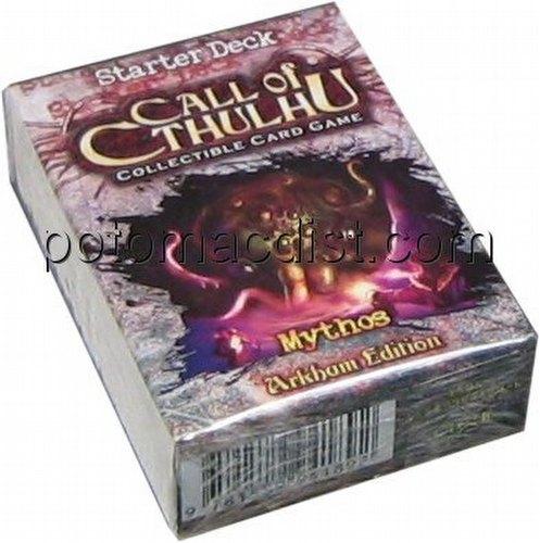 Call of Cthulhu CCG: Arkham Edition Mythos Starter Deck