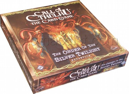 Call of Cthulhu LCG: The Order of the Silver Twilight Expansion Box