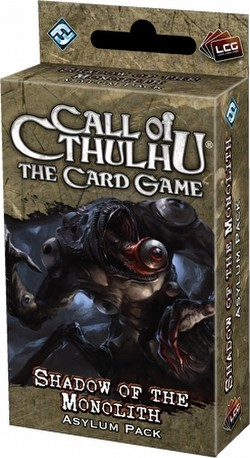 Call of Cthulhu LCG: Ancient Relics Cycle - Shadow of the Monolith Asylum Pack Box [6 packs]