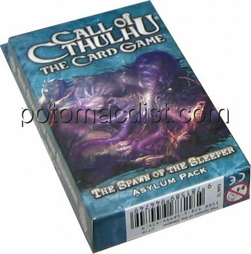 Call of Cthulhu LCG: The Summons of the Deep - The Spawn of the Sleeper Asylum Pack