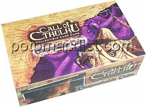 Call of Cthulhu CCG: Unspeakable Tales Booster Box