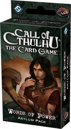 Call of Cthulhu LCG: Revelations - Words of Power Asylum Pack Box [6 packs]