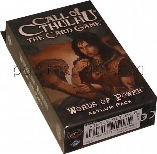 Call of Cthulhu LCG: Revelations - Words of Power Asylum Pack