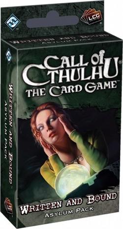 Call of Cthulhu LCG: Revelations - Written and Bound Asylum Pack Box [6 packs]