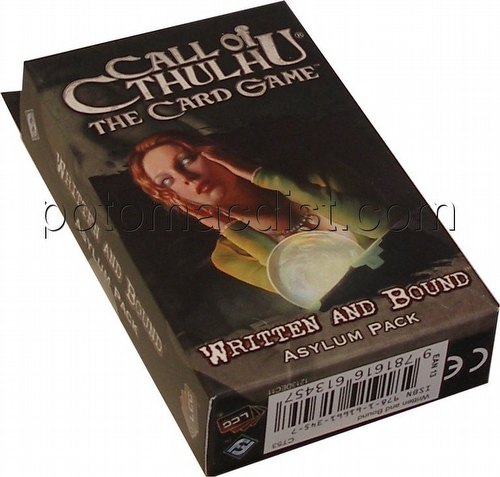 Call of Cthulhu LCG: Revelations - Written and Bound Asylum Pack
