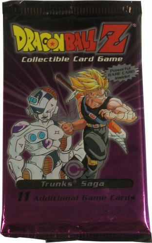 Dragonball Z Collectible Card Game [CCG]: Trunks Saga Booster Pack [Limited]