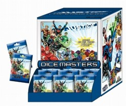 DC Dice Masters: Justice League Dice Building Game Gravity Feed Box