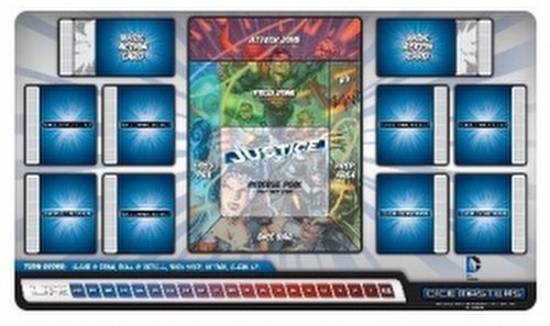 DC Dice Masters: Justice League Dice Building Game Play Mat