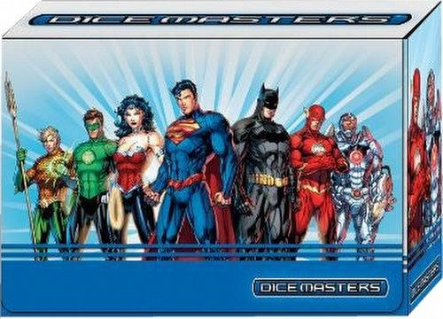 DC Dice Masters: Justice League Dice Building Game Team Box