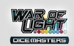 DC Dice Masters: War of Light Dice Building Game Team Box