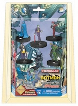 HeroClix: DC Batman and His Greatest Foes Fast Forces Pack
