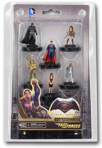 HeroClix: DC Batman Vs. Superman - Dawn of Justice Movie Fast Forces Pack