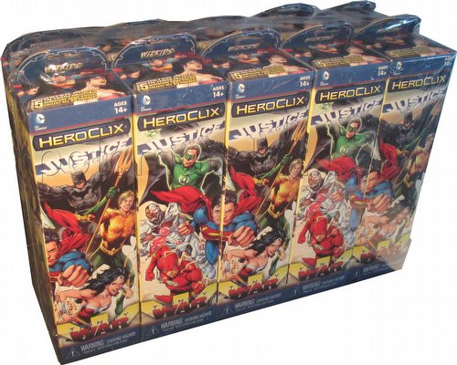 HeroClix: DC Justice League - Trinity War Booster Brick [10 boosters]