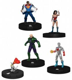 HeroClix: DC Superman and Wonder Woman Booster Brick [8 regular boosters/1 super booster]