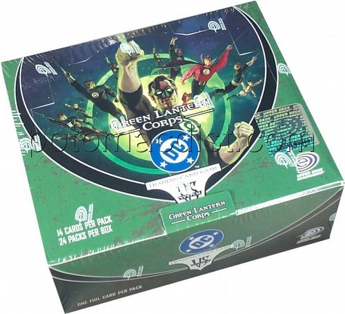 DC VS: Green Lantern Corps Booster Box