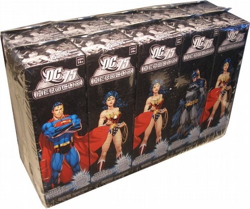 HeroClix: DC 75th Anniversary Booster Brick (Half Case) [10 boosters]