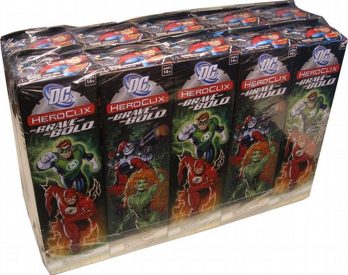 HeroClix: DC The Brave and the Bold Booster Brick (Half Case) [10 boosters]