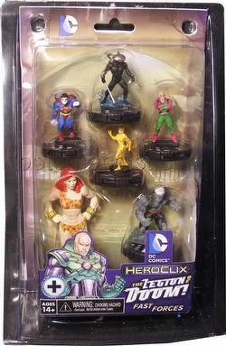 HeroClix: DC The Legion of Doom Fast Forces Pack