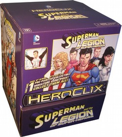 HeroClix: DC Superman and the Legion of Super-Heroes Gravity Feed Box