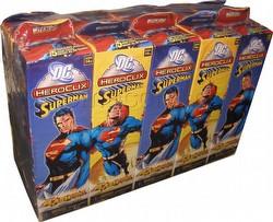 HeroClix: DC Superman Booster Brick (Half Case) [10 boosters]
