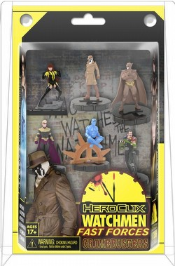 HeroClix: DC Watchmen Fast Forces 6-Pack Case [16 Packs]