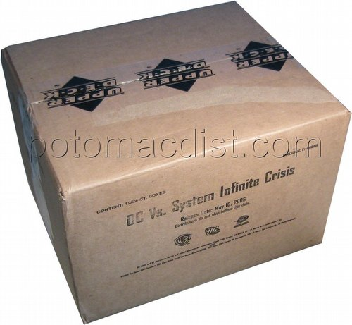 DC VS: Infinite Crisis Booster Box Case [12 boxes]